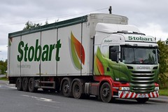 Stobart H8457 PY15 FXM Vicky Maisie at Sherburn 4/9/15 (CraigPatrick24) Tags: road truck cab transport lorry delivery vehicle trailer scania logistics sherburn sherburninelmet stobart eddiestobart stobartgroup walkingfloor scaniar450 stobartrenewableenergy vickymaisie h8457 py15fxm