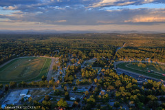 Two Tracks (Samantha Decker) Tags: ny newyork track upstate saratogasprings aerial helicopter nyra canonef24105mmf4lisusm saratogaracecourse oklahomatrack canoneos6d samanthadecker
