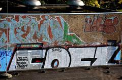 graffiti amsterdam (wojofoto) Tags: amsterdam graffiti wojofoto wolfgangjosten fofs fofz westerpark nederland netherland holland
