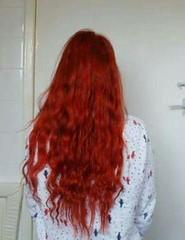 IMG_20151018_104840 (Nicolaspeakssometimes) Tags: selfportrait hair longhair redhair