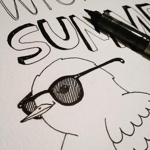 The Summer is around the corner #inkoctober
