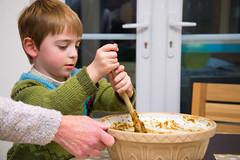 Stir up, O Lord, we beseech thee... Christmas cake time! (photoverulam) Tags: cake ben chrismas stirupsunday