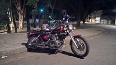 Yamaha Virago XV 250 1999 (Renan Catto) Tags: zeiss helmet carl yamaha virago custom rossi 250 valentino 830 lumia agv xv250 vr46