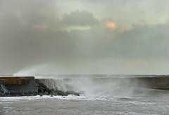 Amble Storm 1 (loftylion9) Tags: storm sunrise gales northumberland bamburgh holyisland lindisfarne stmarys blyth amble stmaryslighthouse dunstanburghcastle embleton coquetisland blythbeach lowhauxley bambirghcastle