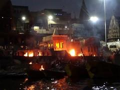 Manikarnika Ghat - Cremations (1) (pensivelaw1) Tags: india varanasi cremations manikarnikaghat