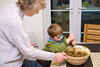 Stir up, O Lord, we beseech thee... Christmas cake time! (photoverulam) Tags: cake ben mum chrismas stirupsunday