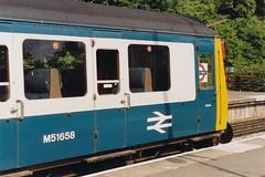 19880606 004 Moor Park. BR Derby Class 115 DMBS M51658 (15038) Tags: br diesel trains londonunderground railways britishrail lt moorpark londontransport lul dmu 51658 class115 dmbs