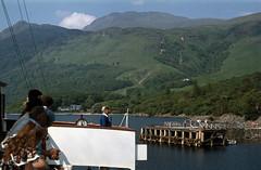 On board 'Maid of the Loch' arr Rowardennan . Jul'77. (David Christie 14) Tags: lochlomond rowardennan maidoftheloch