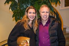 LACO board member Roberto Apelfeld and Claudia Apelfeld