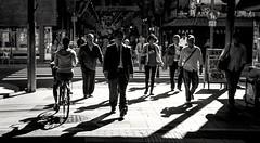 Shadow Street (debbykwong) Tags: street shadow blackandwhite japan photography passerby