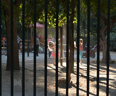 playground (Maroulaking) Tags: girls playing playground greece beaut beautifulstrangers