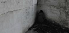 Isolation (@cristina.sulfur on Instagram) Tags: blackandwhite bw españa blancoynegro girl dark photography sadness tristeza spain nikon solitude alone loneliness chica darkness noone isolation soledad fotografia sola rincon hideout oscuridad oscuro nadie aislamiento nikond90