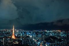 _MG_6375 (WayChen_C) Tags: night tokyo tokyotower roppongi  odaiba moribuilding roppongihills minatoku  rainbowbridge          tokyocityview     tokyogatebridge