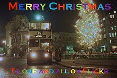 Merry Christmas to and yours (Lady Wulfrun) Tags: christmas tree lights birmingham december 1975 1970s victoriasquare 2796 wmpte joj796