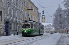 101218-033_279-Leonhardstr (Rainer Spath) Tags: schnee winter snow austria österreich trolley tram graz trams tramway steiermark autriche styria gvb streetcars strasenbahn grazerverkehrsbetriebe električky