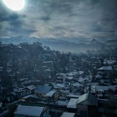Overlooking Almaty