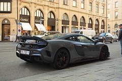 Nardo Grey. (Tim Riegelein) Tags: mclaren 675 lt longtail car supercar munich muc hypercar mclare675lt luxury