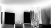 Clear-Cut Still Life (Astroredg) Tags: bw nb noiretblanc blackandwhite stilllife naturemorte vase crystal limpid limpide art modern modernart translucent translucide reverie focus bohemian bohémien clearcut minimalist minimaliste minimalistic highcontrast hautcontrastes contrasts contrastes artmoderne lucid lucide clean geometry squares shapes bowl ethereal éthérique