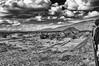 Pirámide del Sol (Angelo Petrozza) Tags: piramide pyramid sun sole texcoco teotihuacan mexico blackandwhite biancoenero bw clouds nuvole pov profondità di campo pentaxk20d angelopetrozza