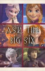 The Big Six (PrimRoseFrost) Tags: primaskthebigsx jackfrost elsa rapunzel anna hiccup merida thebigsix riseoftheguardians frozen tangled brave howtotrainyourdragon
