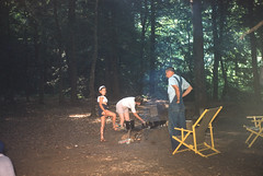 Susan Conner, Mother, Dave Conner Camping at Big Ivy Pisgah National Forest NC August 4-8 1954.jpg (buddymedbery) Tags: years daveconner pisgahnationalforest friends 1954 unitedstates northcarolina family 1950s mother
