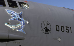 B-52H 60-0051 MT 23BS 5BW NOSE ART EGVA 0799 CLOFTING P (Chris Lofting) Tags: b52h b52 boeing 600051 mt 23bs riat fairford egva usaf