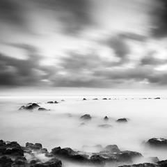 Norah Head Rockpool (JasonBeaven) Tags: sunrise seascape longexposure blackandwhite monochrome norahhead centralcoast nsw australia print photo photographer jasonbeaven
