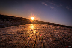 Sonnenuntergang am Feldberg 4