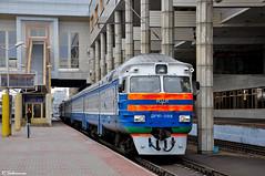 BcH DR1P-098, Minsk-pass., 2013/05/04. (lg-trains) Tags: belarus railways trainspotting trains dr1a minsk