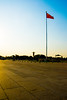 Sunset Flag (Hairball9) Tags: china beijing tiananmensquare sunset flag