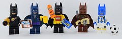World of Batman (Alex THELEGOFAN) Tags: lego legography minifigures minifigure minifig minifigs minifigurine minifigurines movie batman black super heroes dc comics store business man voodoo space spaceman classic soccer ball the
