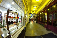Arcade (Tyrone Williams) Tags: cardiff samyang8mm 8mm canon canon7d street wideangle architecture people insight shoppers capital wales 2017 winter