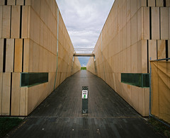 This Way (@fotodudenz) Tags: mamiya7 film rangefinder super wide angle 43mm medium format kodak portra 160 canberra act australia 2016 parliament house reconciliation place