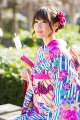 278A0092 (tsuchinoko36) Tags: 小越しほみ モデル レースクイーン 浅草 撮影 撮影会 riddle撮影会 振袖 ポートレート portrait 写真 japan furisode 着物 kimono