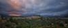 (014/17) Tranquilidad en la noche (Pablo Arias) Tags: pabloarias photoshop nxd cielo nubes españa arquitectura montaña paisaje ladera anochecer tormenta resplandor panorámica polopdelamarina alicante comunidadvalenciana
