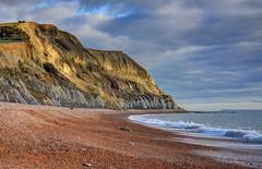 The Dorset coast near Seatown (Baz Richardson (catching up again!)) Tags: dorset seatown coast cliffs beaches shinglebeaches jurassiccoast worldheritagesite