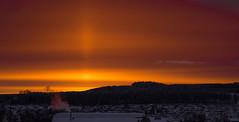 Sun Rise (Ric_O_K) Tags: sun sunset lights stars star marienberg morning morgen orange color colour farben eis schnee nebel foggy fe 70200mm f28 gm upper light column