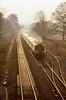 Diesel dusk (Nodding Pig) Tags: bathampton railway train bathnortheastsomerset england greatbritain uk 1979 intercity125 hst highspeedtrain britishrail westernregion film scan transparency kodak ektachrome pentaxsp1000 3832r102