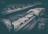 Forgotten Chords (N E Pic's) Tags: uk urban urbex urbanexploration urbanmagic ue urbandecay unitedkingdom canon canonuk mycanon sigma18300 sigma sigmalenses northeastengland northumberland blackandwhite mono monochrome piano decay abandoned farm house