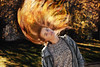 FireJosie (ArminAreMean) Tags: fire edit portrait hairflip hair flip