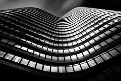 ...urbanhills II... (*ines_maria) Tags: vienna architecture skyscraper city urban urbanart light tower bw blackandwhite lookingup mono monochrome black sky blacksky