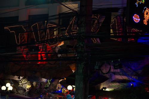 Patong at night (Kathu,Thailand)