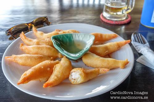 Deep fried shrimp Thai style