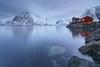 Hamnoy blue hour (schieflicht) Tags: norway lofoten nature myrland landscape sunrise reine hamnoy batis2818 zeiss carlzeiss