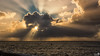 The sun behind clouds (BraCom (Bram)) Tags: bracom cloud wolk sunrays zonnestralen sea zee seascape winter wind breaakwater golfbreker lateafternoon eindmiddag waves golven horizon showers buien ouddorp northsea noordzee brouwersdam goereeoverflakkee zuidholland nederland southholland netherlands holland canoneos5dmkiii widescreen canon 169 canonef24105mm bramvanbroekhoven nl