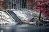 Waterway Beekhuizense forrest (Jaap Mechielsen) Tags: sneeuw thenetherlands winter natuurgebied velp gelderland nederland waterval europe beekhuizen veluwezoom europa snow waterfall nl