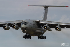 Indian Air Force Il-78MKI RK-3452 (philrdjones) Tags: 2007 aar airtoairrefuellng aircraft airshow egva ffd fairford il78mki ilyushin indianairforce july riat rk3452 royalinternationalairtattoo swap southwestaviationphotographers tanker