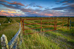 A las puertas del cielo - Puerto Varas (Patagonia - Chile) (Noelegroj (7 Million views+.Thank you all) Tags: chile patagonia puertovaras regiondeloslagos lakedistrict field campo green hill lomaje grass pastos road camino perspective perspectiva sky cielo nubes clouds landscape paisaje aftersunset gates puertas countryside campestre heaven colorido colorfull afterglow crepusculo pampa