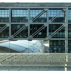 HBF Central Station C (Cydracor) Tags: berlin hauptbahnhof bahnhof glas verkehr traffic architektur gebäude panasonic lumix tz71