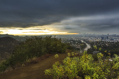 Los Angeles (3dRabbit) Tags: la los angeles downtown ca usa citiscape light clouds canon